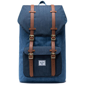 Herschel Little America Backpack 25L faded denim/indigo denim